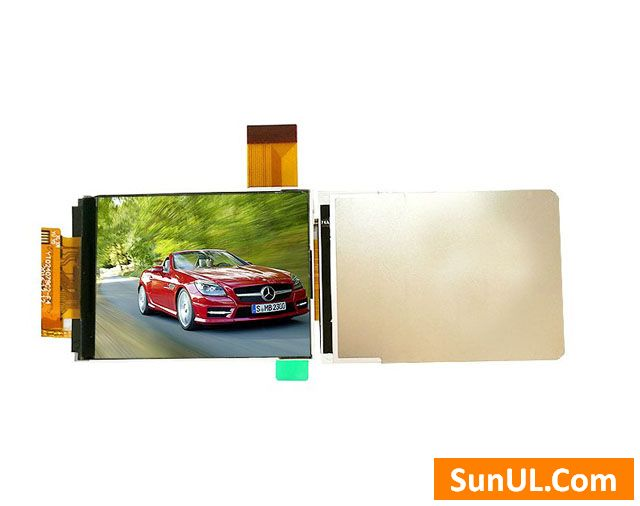 2.4 inch sunlight readable LCD