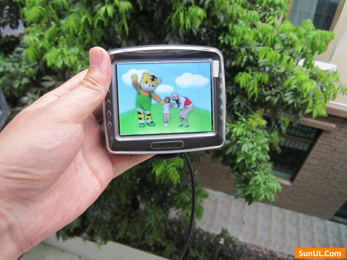 3.5 inch sunlight readable lcd